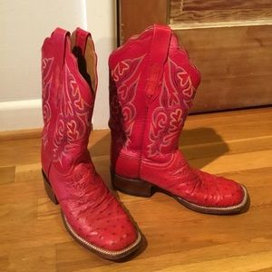 11094b62499 Women Lucchese Ostrich Boots on Poshmark